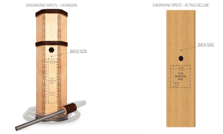 engraving specifications