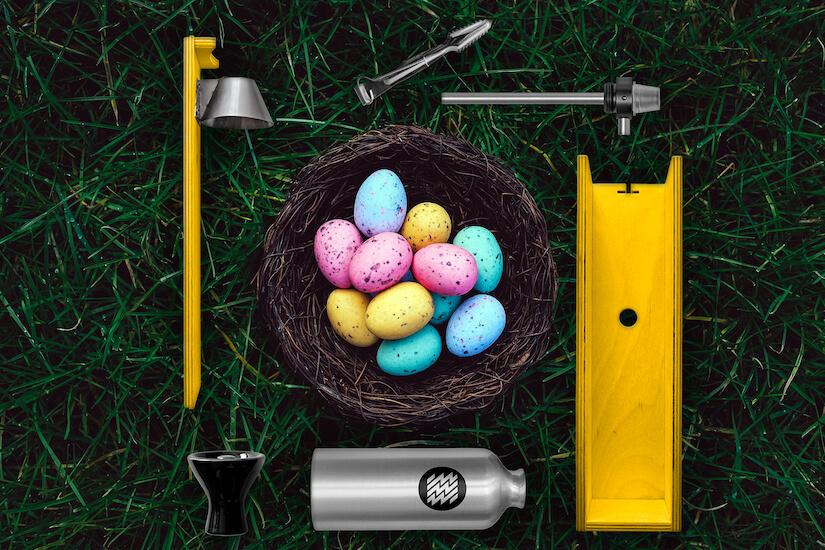 Easter Hookah colors | Decorate hookah instead eggs on Easter