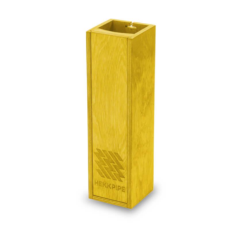 Shisha box yellow wood product