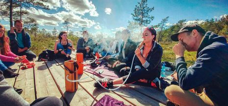 5 things to do in summer with your hookah