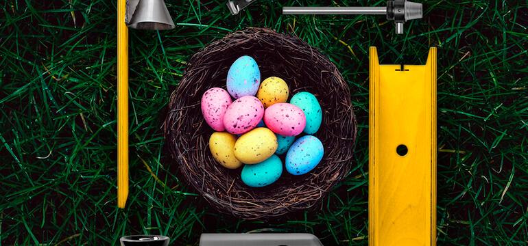 Easter hookah colors - Decorate shisha instead eggs on Easter