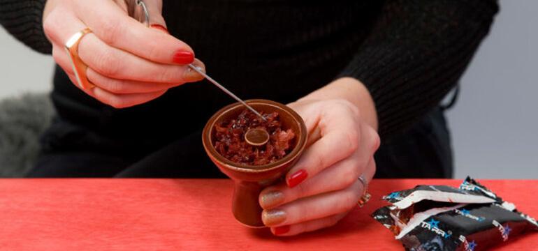 Hookah tobacco in bowl