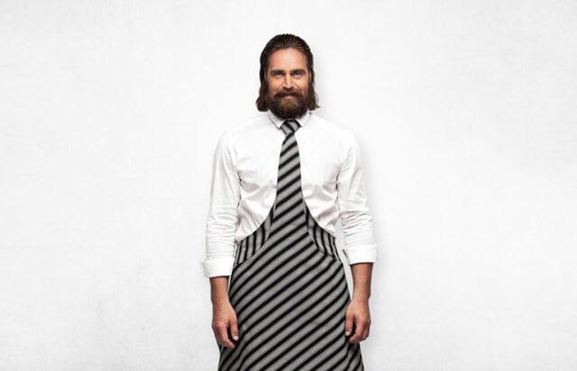 Tie and Apron Estonian design