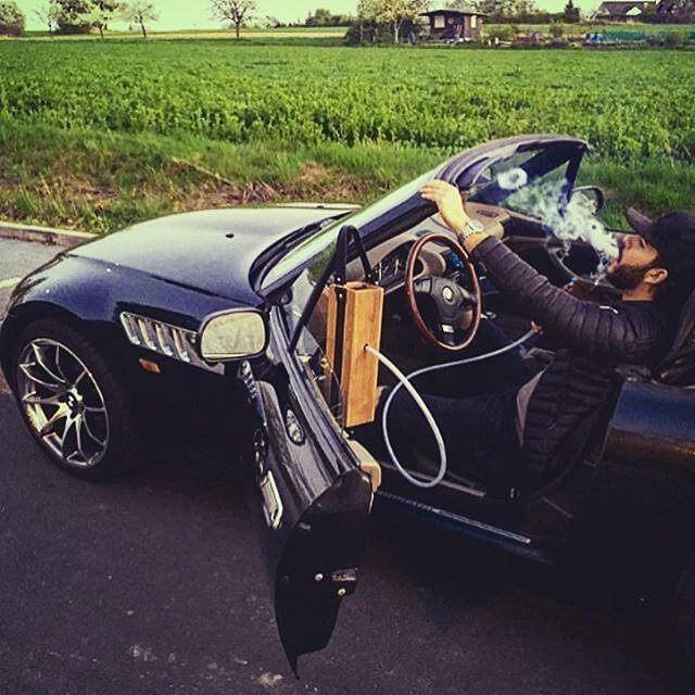 car hookah - premium deluxe Hekkpipe edition
