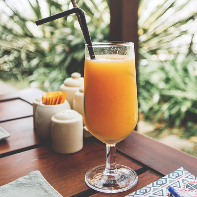 hookah and drinks - fresh juice