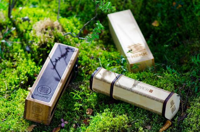 portable hookah box in nature
