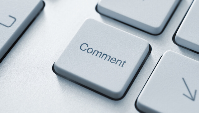 Commenting available on our blog