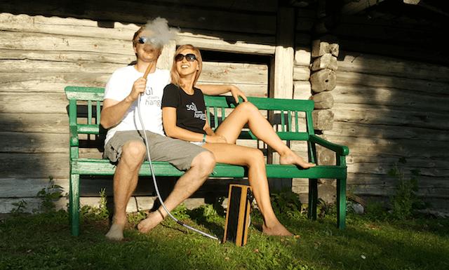 hekkpipe t-shirt - hookah fan gear