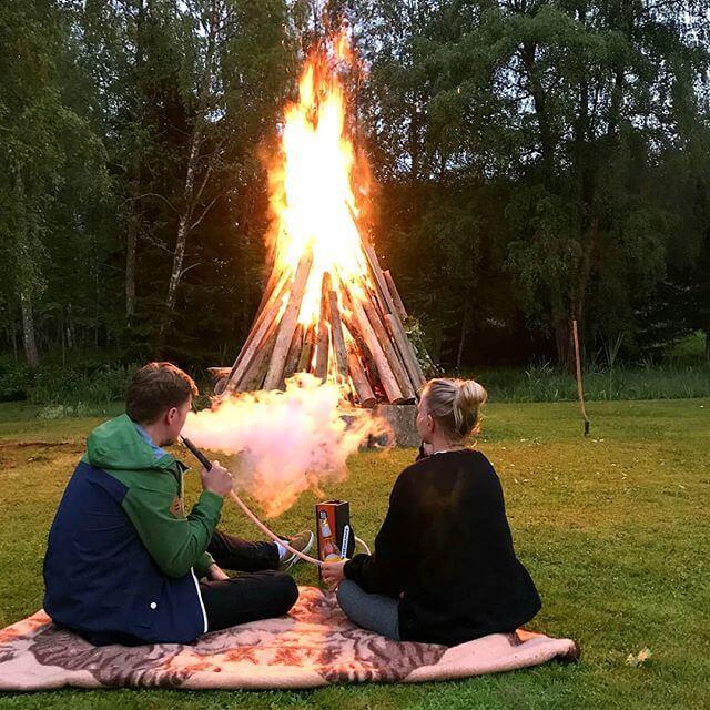 bonfire hookah