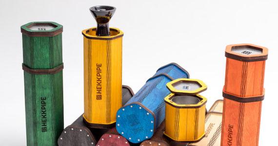 Lightweight hookah | Second generation Hekkpipe Hexagon