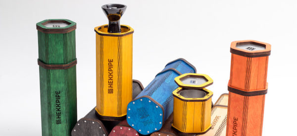 Lightweight hookah | Second generation Hekkpipe Hexagon