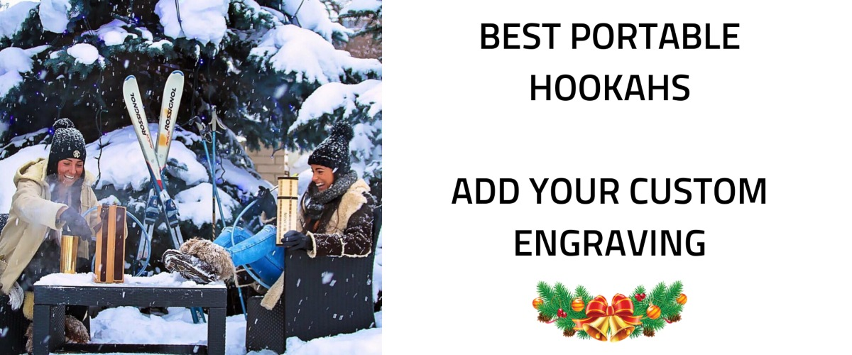 Best portable hookah what is handmade and can be customized